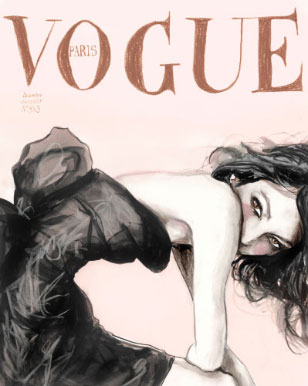 Sofia Coppola on the Cover of French Vogue