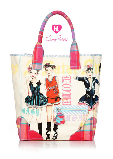 Fashion Artist Danny Roberts second Collaboration Gwen Stefani handbags