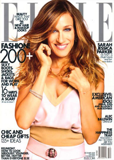 Elle Magazine Cover with Sarah Jessica Parker Photo by Alexei Hay