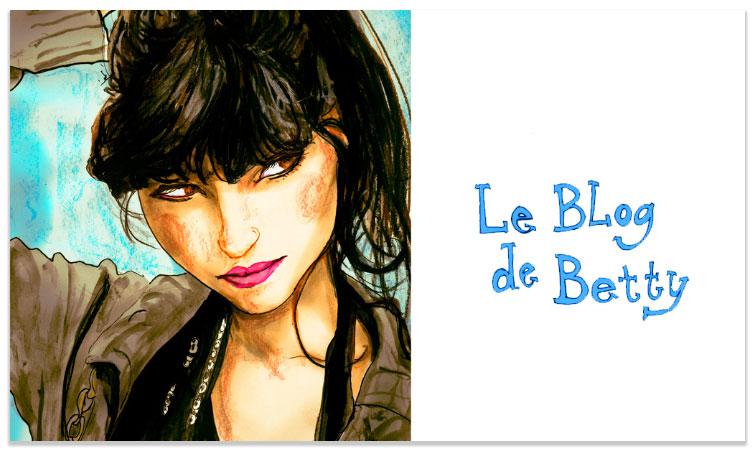 Art Portrait of Betty Autier of Le Blog de Betty